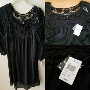 Chiffon boho dress